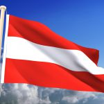 Austria Flag (Clipping Path)