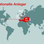 Wiener Börse: Starke internationale Investoren-Nachfrage nach rot-weiss-roten Aktien