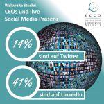 Internationale Studie: Österreichs CEOs schwach bei Social Media Nutzung
